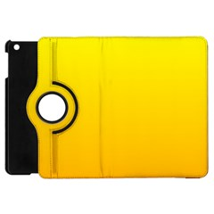 Yellow To Chrome Yellow Gradient Apple iPad Mini Flip 360 Case