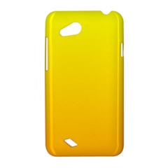 Yellow To Chrome Yellow Gradient HTC T328D (Desire VC) Hardshell Case