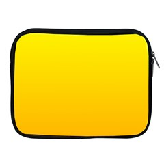 Yellow To Chrome Yellow Gradient Apple iPad 2/3/4 Zipper Case