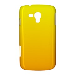 Yellow To Chrome Yellow Gradient Samsung Galaxy Duos I8262 Hardshell Case