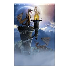 Dragon Land 2 Shower Curtain 48  x 72  (Small)