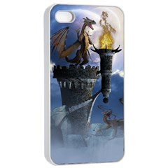 Dragon Land 2 Apple Iphone 4/4s Seamless Case (white)