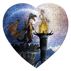 Dragon Land 2 Jigsaw Puzzle (heart)