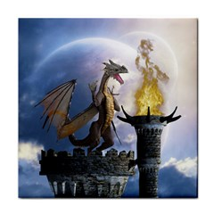 Dragon Land 2 Ceramic Tile