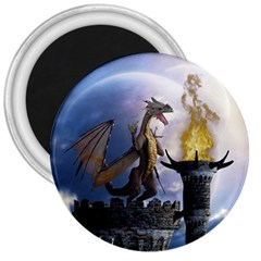 Dragon Land 2 3  Button Magnet