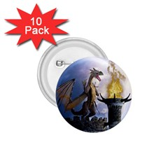 Dragon Land 2 1 75  Button (10 Pack)