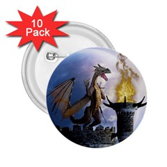 Dragon Land 2 2.25  Button (10 pack)