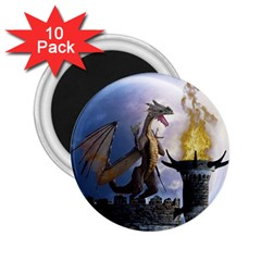 Dragon Land 2 2.25  Button Magnet (10 pack)