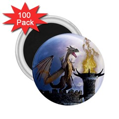 Dragon Land 2 2 25  Button Magnet (100 Pack)