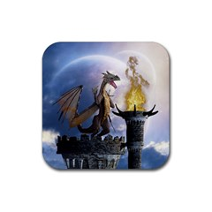 Dragon Land 2 Drink Coaster (square)