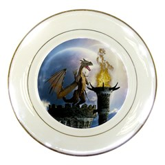 Dragon Land 2 Porcelain Display Plate