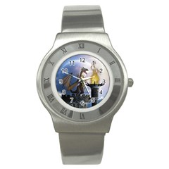 Dragon Land 2 Stainless Steel Watch (unisex)
