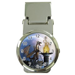 Dragon Land 2 Money Clip with Watch