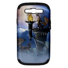 Dragon Land 2 Samsung Galaxy S III Hardshell Case (PC+Silicone)
