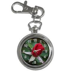 Sallys Flowers 032 001 Key Chain & Watch