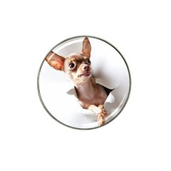 Chihuahua Golf Ball Marker 4 Pack (for Hat Clip)
