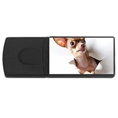 Chihuahua 4gb Usb Flash Drive (rectangle)