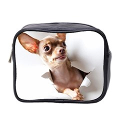 Chihuahua Mini Travel Toiletry Bag (Two Sides)