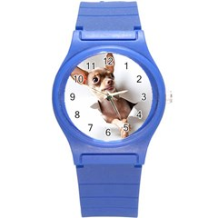 Chihuahua Plastic Sport Watch (small)