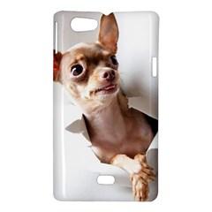Chihuahua Sony Xperia Miro Hardshell Case