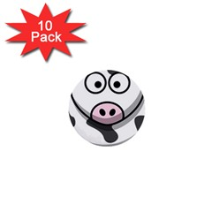 Cow 1  Mini Button (10 Pack)