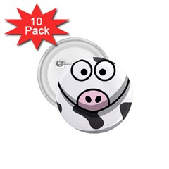 Cow 1 75  Button (10 Pack)