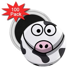 Cow 2.25  Button Magnet (100 pack)