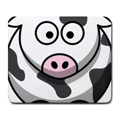 Cow Large Mouse Pad (Rectangle)