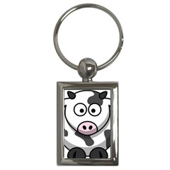 Cow Key Chain (Rectangle)