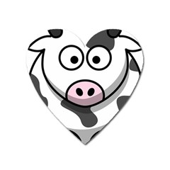 Cow Magnet (Heart)