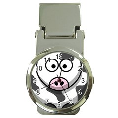 Cow Money Clip with Watch