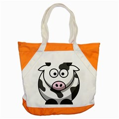 Cow Accent Tote Bag