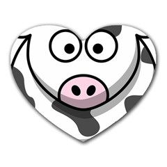 Cow Mouse Pad (heart)