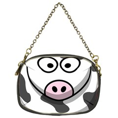 Cow Chain Purse (One Side)