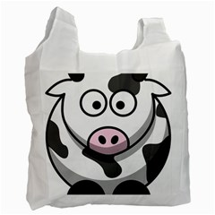 Cow Recycle Bag (One Side)