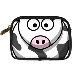 Cow Digital Camera Leather Case