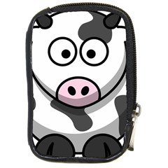 Cow Compact Camera Leather Case