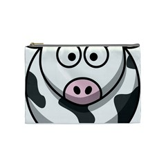 Cow Cosmetic Bag (Medium)