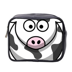 Cow Mini Travel Toiletry Bag (Two Sides)