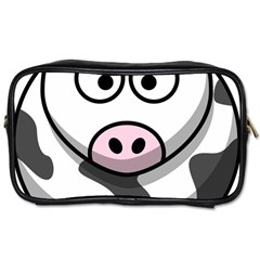 Cow Travel Toiletry Bag (One Side)