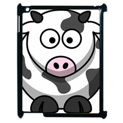 Cow Apple iPad 2 Case (Black)