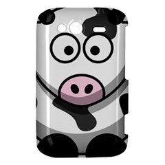 Cow HTC Wildfire S A510e Hardshell Case