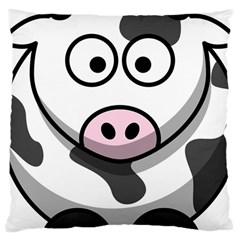 Cow Large Cushion Case (one Side)