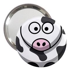 Cow 3  Handbag Mirror
