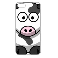 Cow Apple Seamless iPhone 5 Case (Clear)
