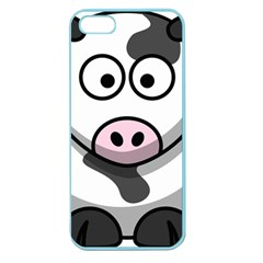 Cow Apple Seamless Iphone 5 Case (color)