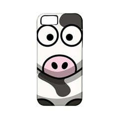 Cow Apple Iphone 5 Classic Hardshell Case (pc+silicone)