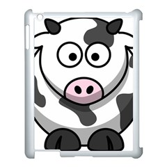 Cow Apple iPad 3/4 Case (White)