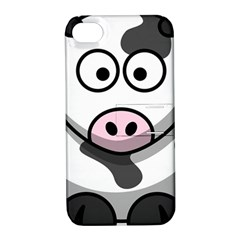 Cow Apple iPhone 4/4S Hardshell Case with Stand