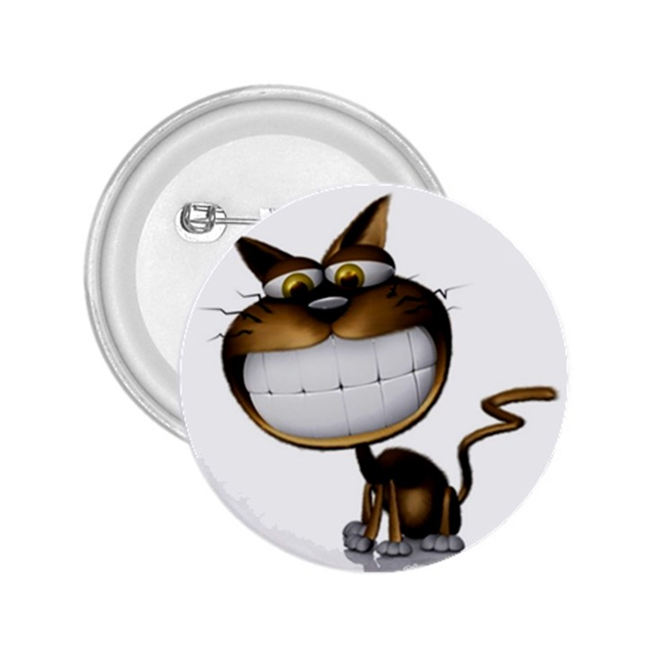 Funny Cat 2.25  Button